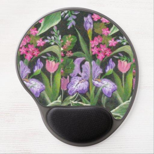 Iris Garden Gel Mouse Pad