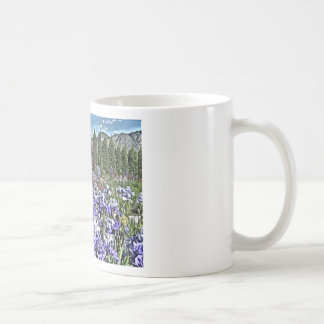 Iris Garden in Bloom Coffee Mug