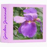 "Iris Garden Journal - Avery 2"" Binder"