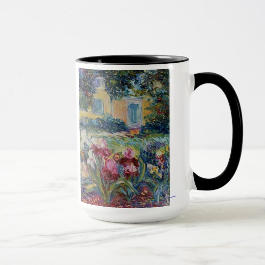 Iris Garden on Sunset Drive Mug