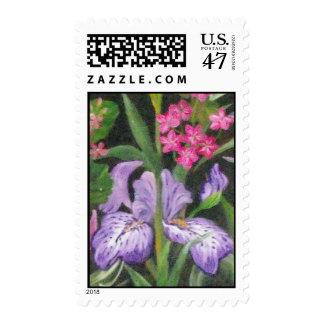 Iris garden Postage
