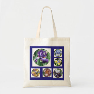 Iris Garden Template Tote