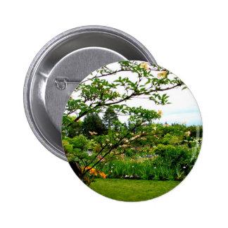 Iris Gardens Button
