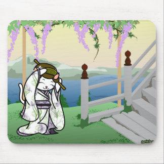 Iris Geisha Kitty Mousepads