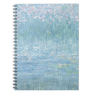 Iris Grace Blossom in the Wind Notepad Note Books
