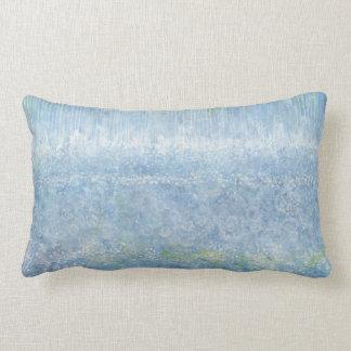 Iris Grace Blue Grace Lumbar Throw Pillow
