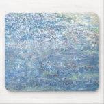 Iris Grace Blue Planet Mouse Pad