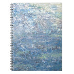 Iris Grace Blue Planet Notepad Spiral Note Book