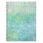 Iris Grace Bluebells Notepad Spiral Note Book