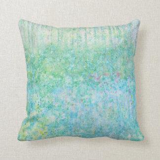 Iris Grace Bluebells Throw Pillow