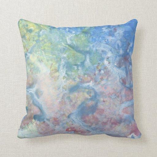 Iris Grace Koi Throw Pillow