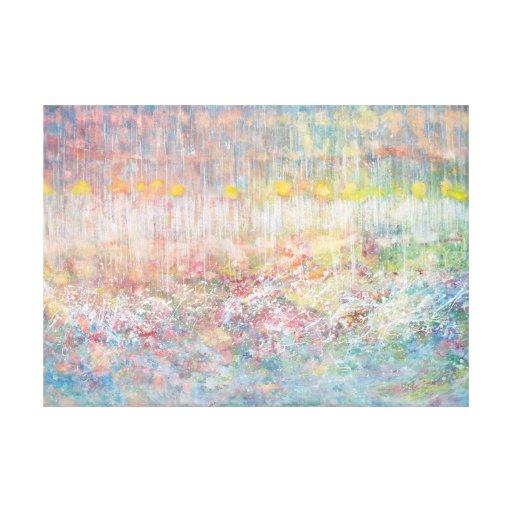 Iris Grace Painting Anima Canvas Wrap Stretched Canvas Prints