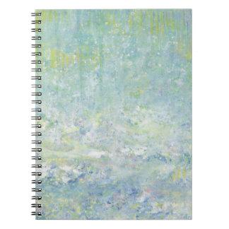 Iris Grace Patience Notepad Notebook