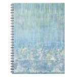 Iris Grace Rain Drops Notepad Spiral Note Book