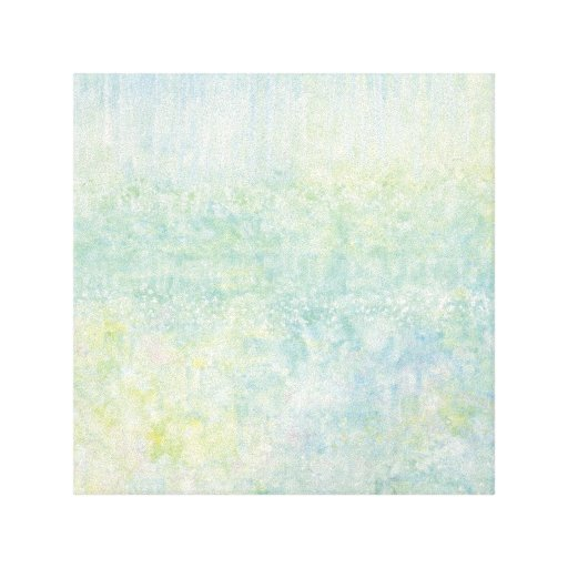 Iris Grace Tip-Toe Canvas Wrap Stretched Canvas Print