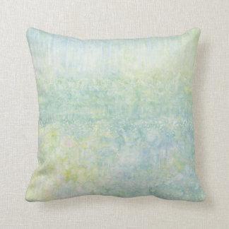 Iris Grace Tip Toe Throw Pillow, square