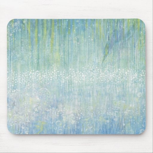 Iris Grace Water Dance Mouse Pad