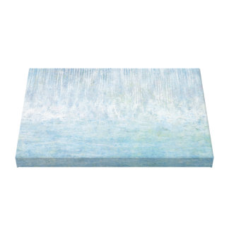 Iris Grace Waterfall Bounce Canvas Print