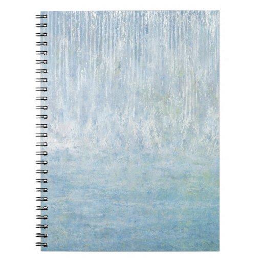 Iris Grace Waterfall Bounce Notepad Notebooks