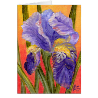 Iris Heat Card