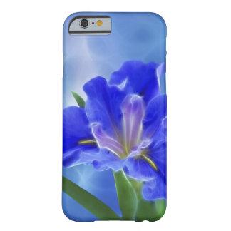 Iris hermoso del fractal y su significado funda para iPhone 6 barely there