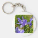 iris-hermoso-púrpura-flor llavero personalizado