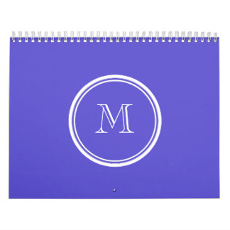 Iris High End Colored Personalized Calendar