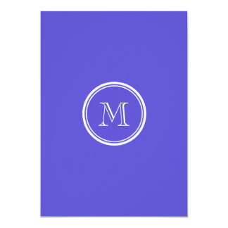 Iris High End Colored Personalized 5x7 Paper Invitation Card