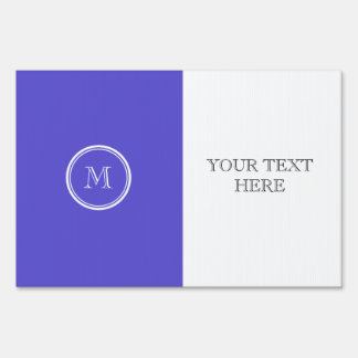 Iris High End Colored Personalized Sign