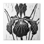 Iris - impresión de bloque tejas  ceramicas
