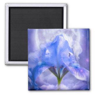 Iris In The Moonlite Art Magnet