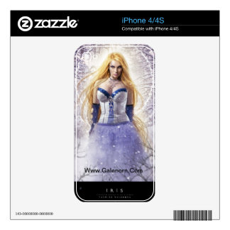 Iris iPhone 4/4S Skin Decal For The iPhone 4S