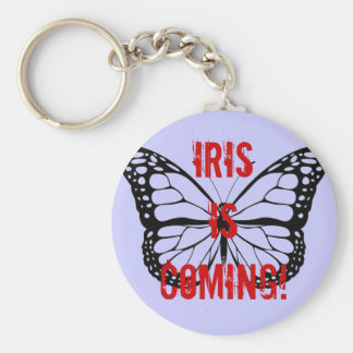 Iris is coming! keychain