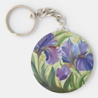 Iris Keychain