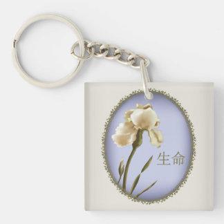 "Iris ""life"" keychain"