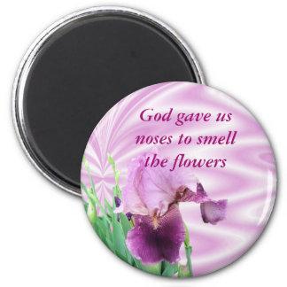 Iris magnet-customize 2 inch round magnet
