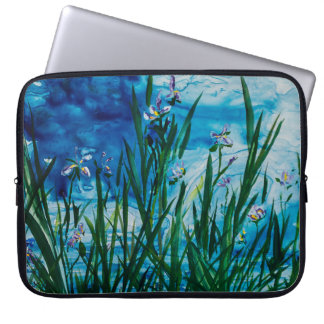 Iris on the Water Edge 15 ' Lap Top Cover