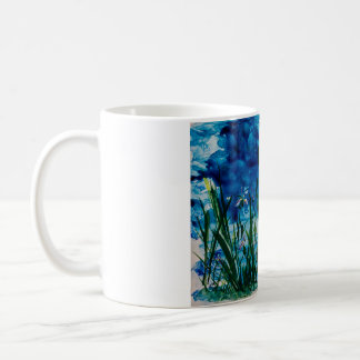 Iris on the Water Edge Cup