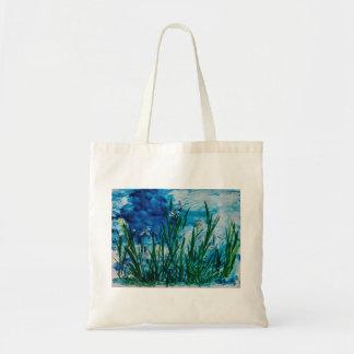 Iris on  Water Edge Tote Bag