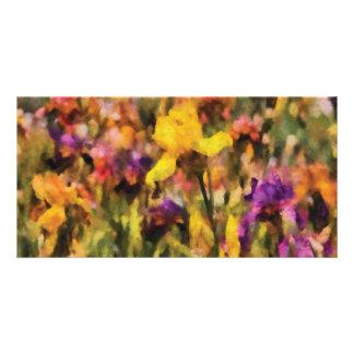 Iris - Orchestra Photo Card Template