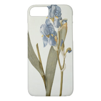 Iris Pallida, from `Les Liliacees', 1812 iPhone 8/7 Case