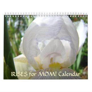 ¡IRIS para la MAMÁ! Regalo de Navidad del regalo d Calendario