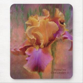 Iris pintado Mousepad