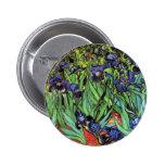 Iris por la bella arte de Van Gogh Pins