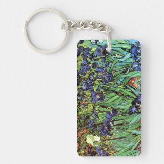 Iris por llavero de la bella arte de Van Gogh