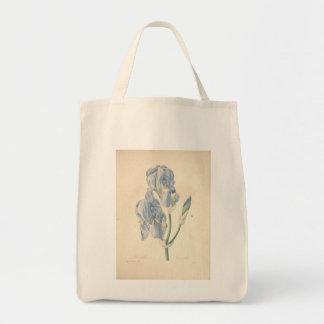 Iris por Redoute - bolsos del vintage de Bolsa Tela Para La Compra