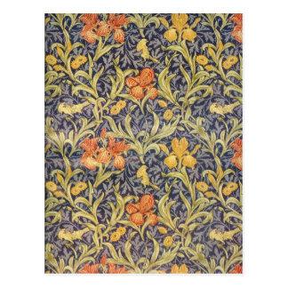 """""""Iris"""" por William Morris Postal"""