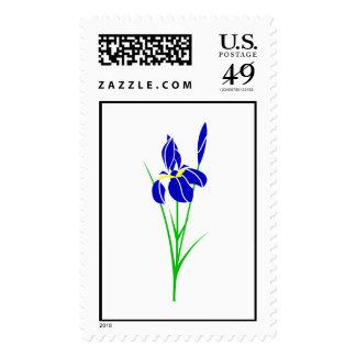 Iris Postage Stamps