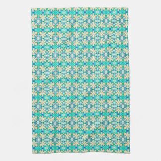 Iris Print Kitchen Towel