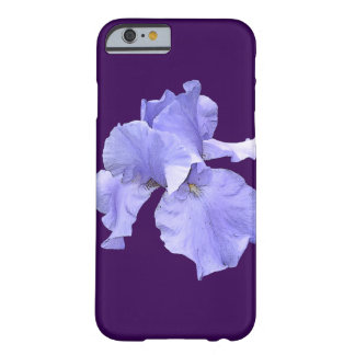 Iris púrpura barbudo alto funda barely there iPhone 6